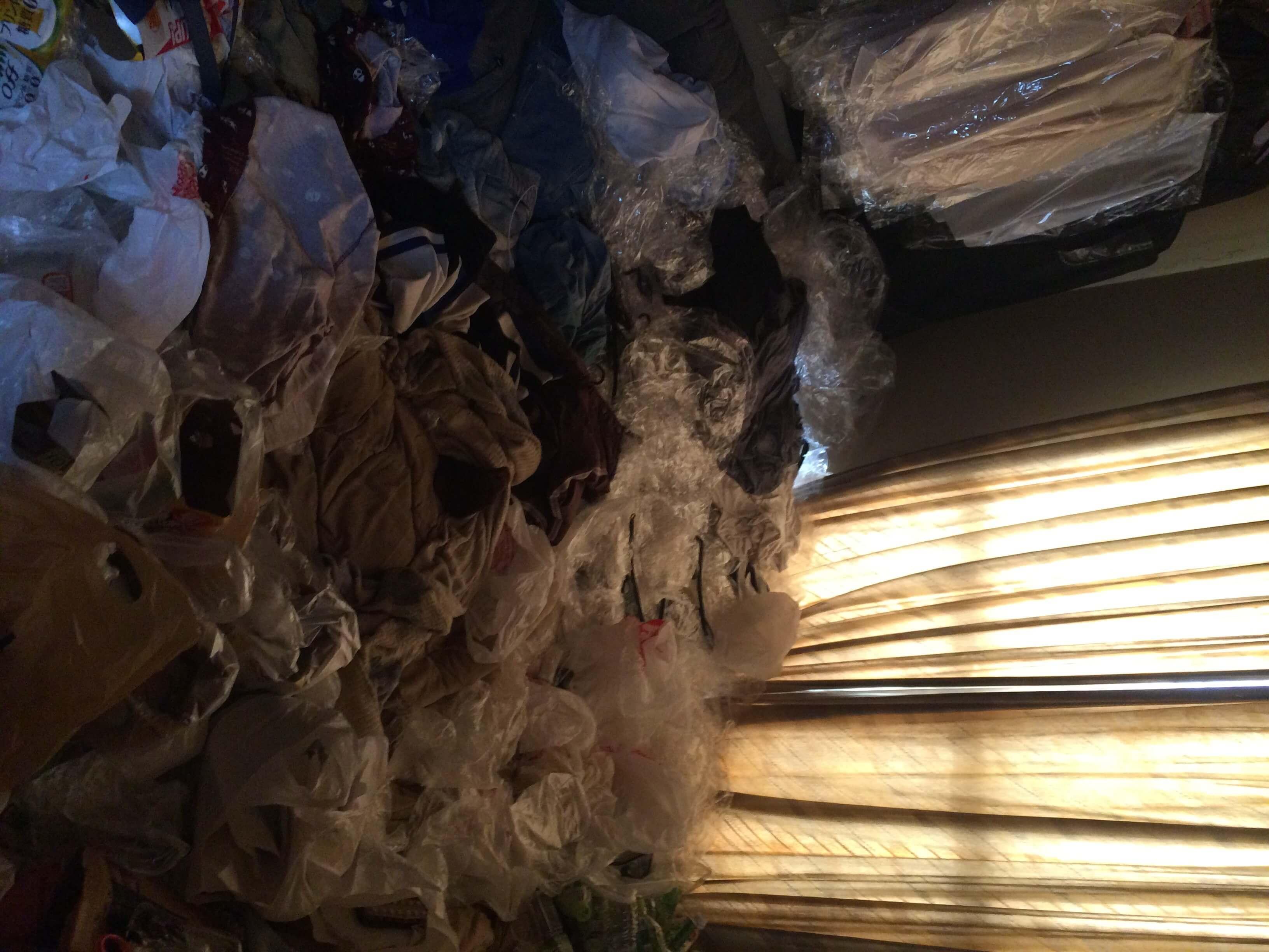 ゴミ袋回収